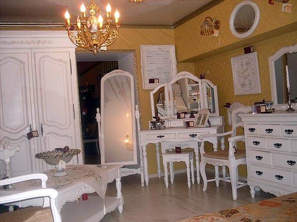 мебель для ванной комнаты в стиле прованс.